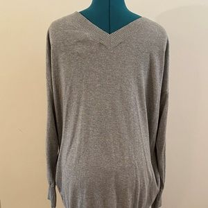 Victoria's Secret Gray Long Slouchy Sweater